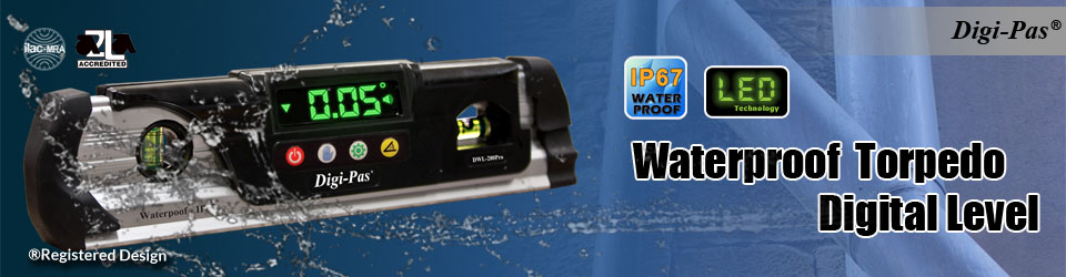 Waterproof Torpedo Digital Level - Model: DWL 280Pro